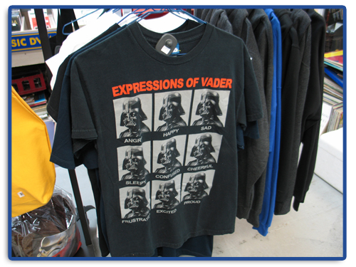 Apparel at Spin-it Records & Video